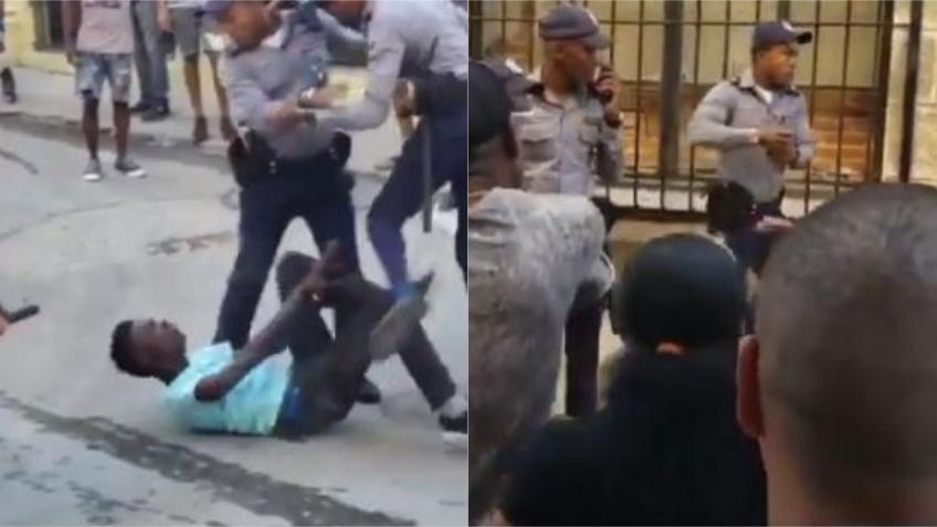 Policías en Cuba usan gas pimienta contra grupo que presenciaba un arresto en La Habana