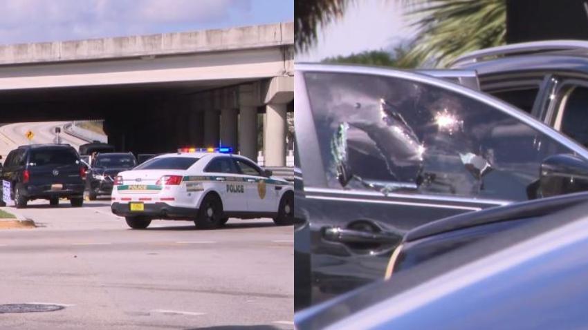 Asesinan a tiros a un hombre mientras conducía en el noreste de Miami-Dade