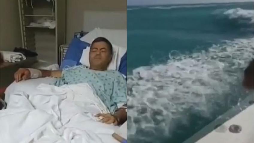 Hombre atacado por tiburón en Key Biscayne dice que no dejará de pescar y agradece a su amigo que le salvó la vida