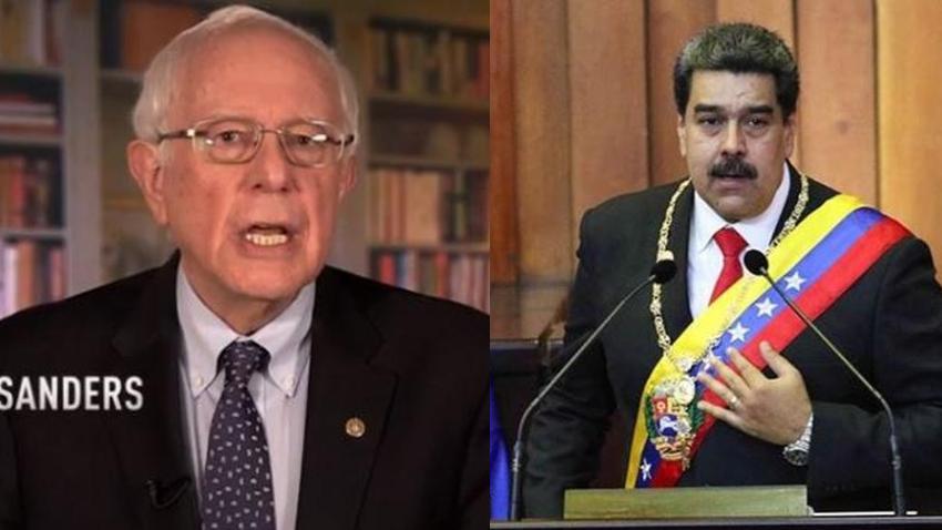 Bernie Sanders se niega a llamar a Maduro dictador y defiende su postura