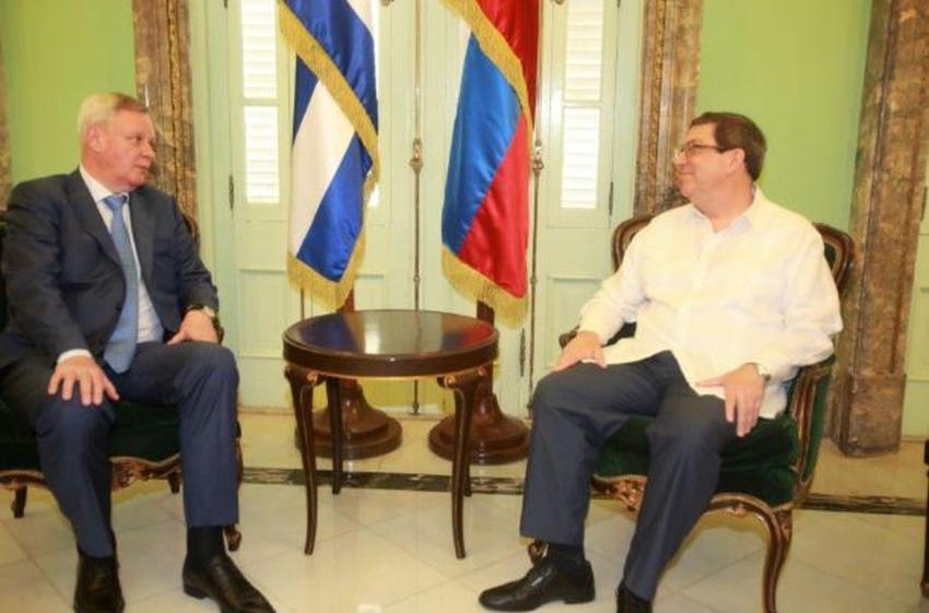 """Cuba y Rusia expresan """"voluntad mutua"""" de continuar fortaleciendo sus vínculos"""