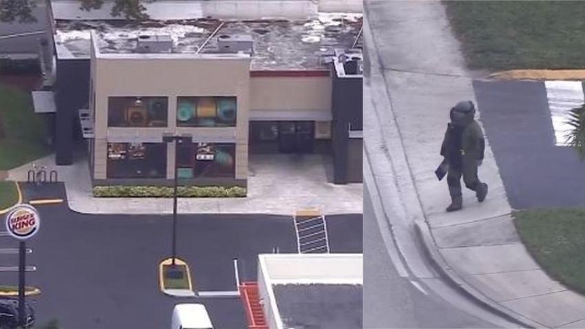 Burger King en la 40 calle en Miami evacuado bajo investigación policial