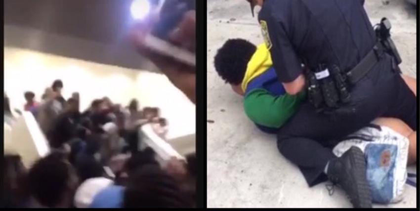 La policía acudió a secundaria Homestead Senior por una pelea que desató el caos en la escuela