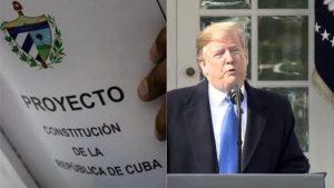 Estados Unidos califica de engaño el referendo constitucional en Cuba