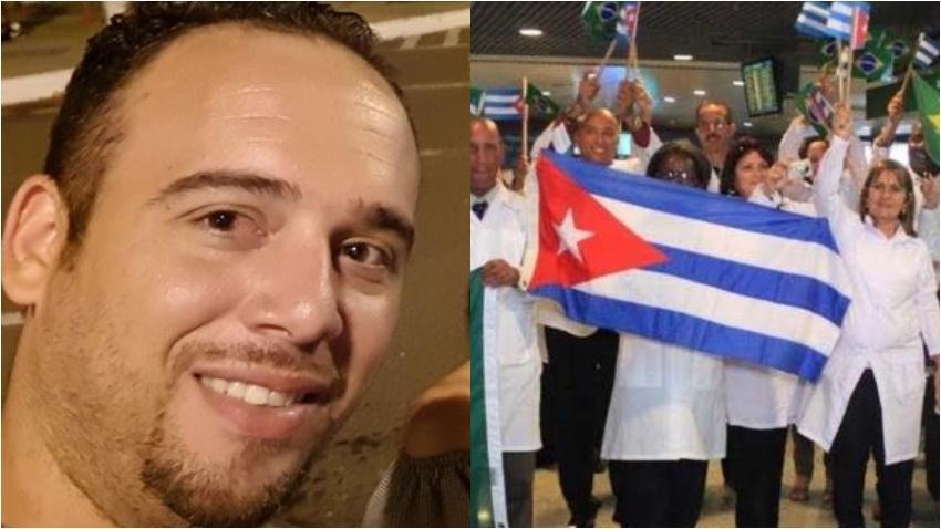 Médico cubano que se quedó en Brasil se queja y dice que les hicieron falsas promesas