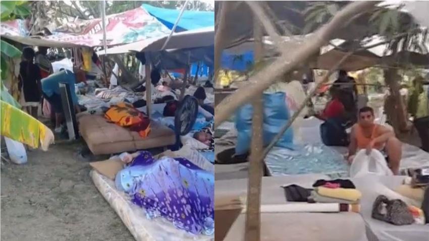 En condiciones inhumanas viven 72 cubanos en un platanal en Trinidad y Tobago