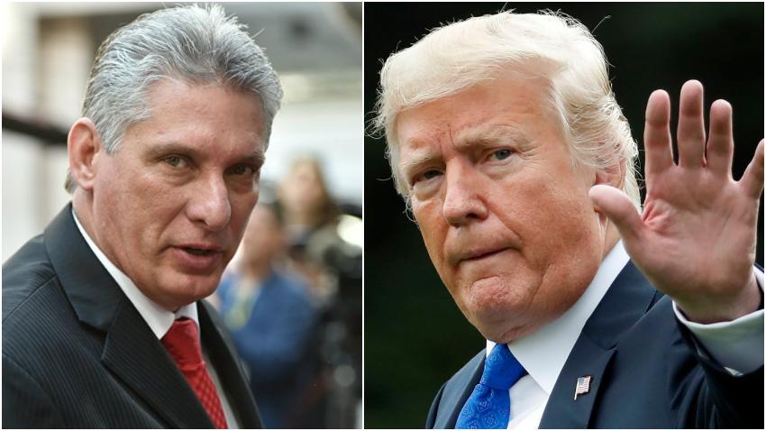 """Miguel Díaz-Canel responde al anunció del presidente Trump: """"Rechazamos enérgicamente la amenaza de bloqueo total y completo de Trump contra Cuba"""""""