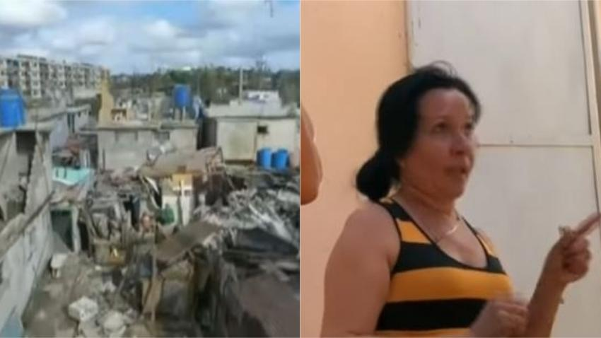 """Doctora cubana que cumplía misión en Venezuela indignada que """"La Revolución"""" no se encargó de su hijo solo en Cuba tras el paso del tornado"""
