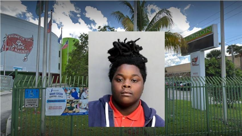 Adolescente de Miami es acusada de vender comestibles de marihuana en la escuela