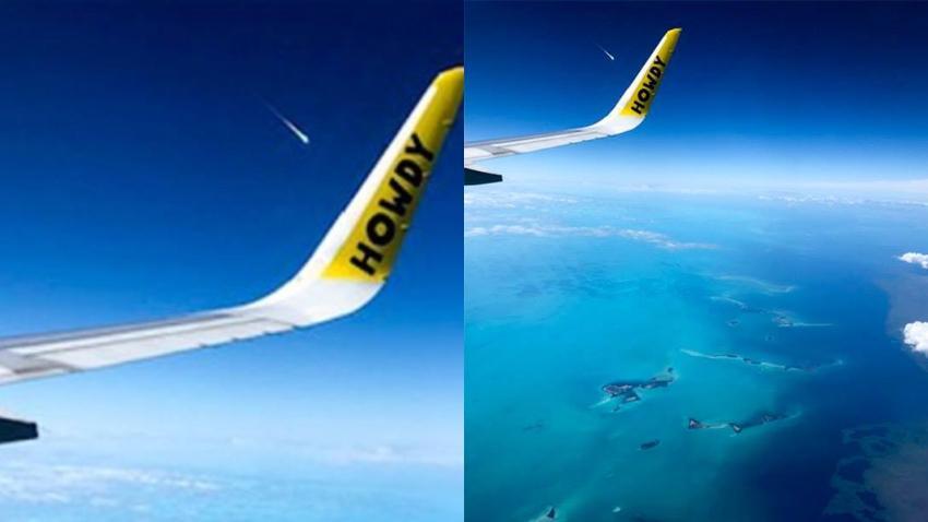 Foto desde un avión del meteorito que cayó en Cuba el pasado 1 de febrero