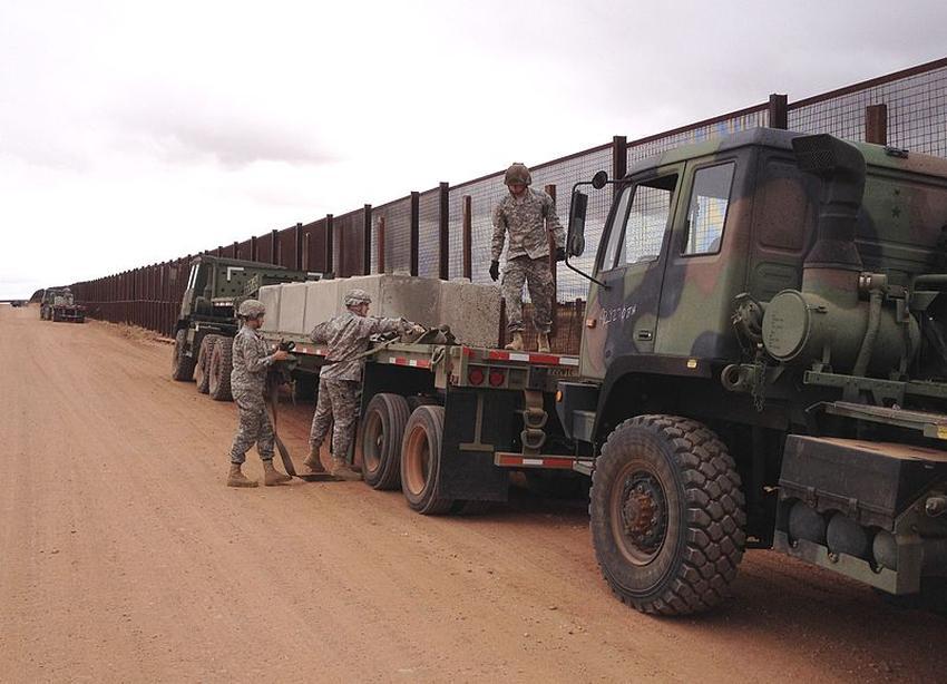 Administración Trump envía 3750 soldados más a la frontera de Estados Unidos con México