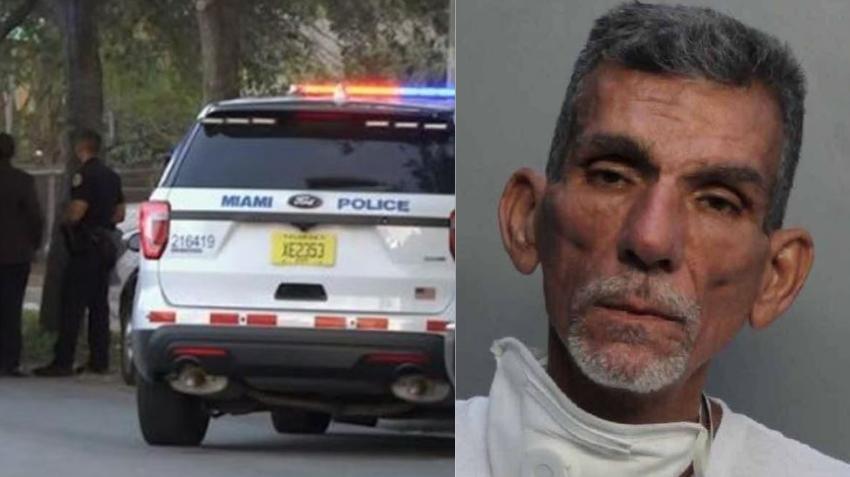 Hombre de Miami con VIH amenaza con matar y cortar en pedazos a una mujer; escupe en la cara a oficial durante el arresto