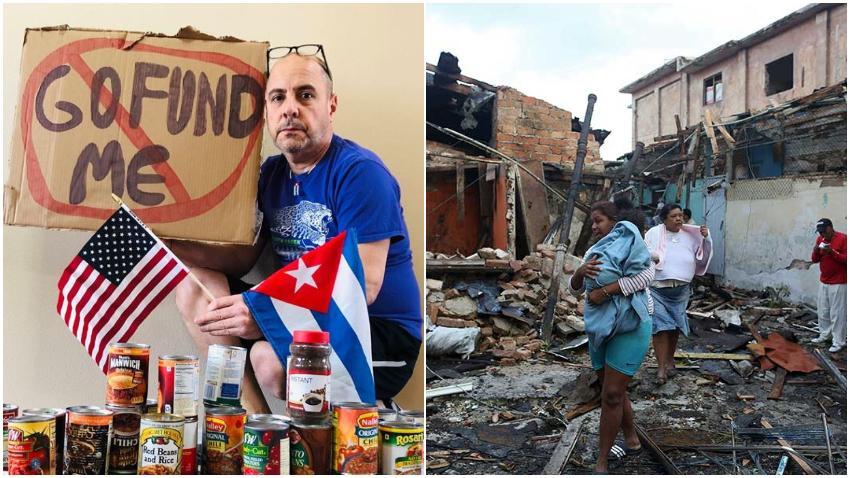 GoFundMe bloquea campaña para recaudar fondos por el profesor Carlos Lazo para damnificados del tornado en La Habana