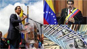 """Guaidó denuncia que Maduro pretende sustraer 1.200 millones de dólares de Venezuela """"robando"""" la ayuda humanitaria"""