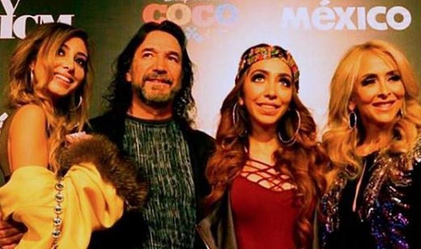 Alison y Marla, hijas de la cubana Cristian Salas y Marco Antonio Solís, se presentarán con su padre en el Festival de Viña del Mar