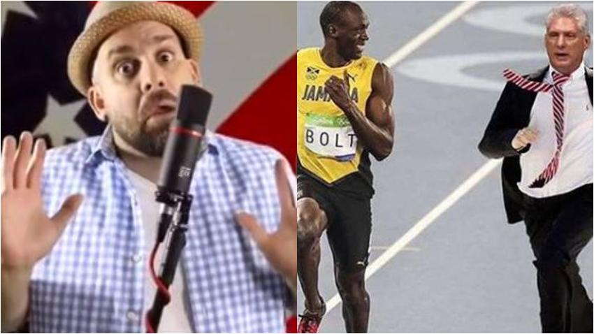 Humorista cubano Javier Berridy dedica parodia a la huida de Díaz-Canel de Regla