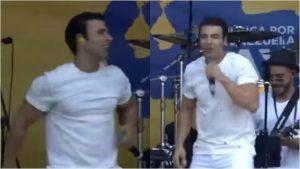 Jencarlos Canela pidió por la libertad de Cuba durante concierto por Venezuela