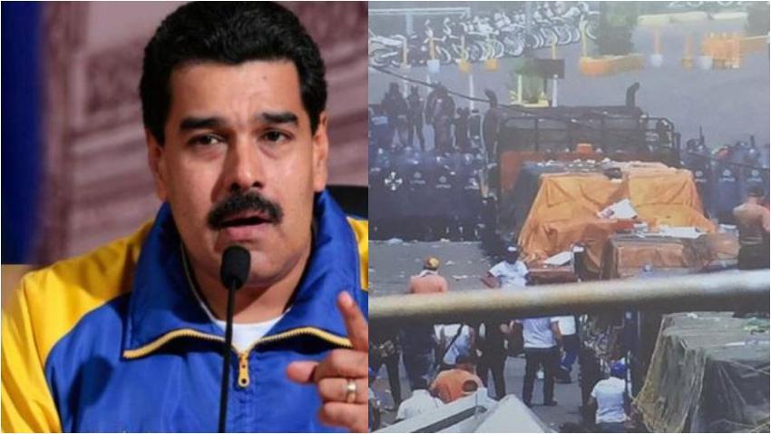 El régimen de Maduro disparó a territorio de Colombia