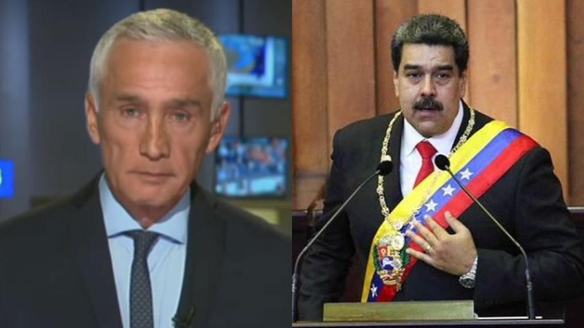 Maduro retiene de manera arbitraria al periodista Jorge Ramos y su equipo