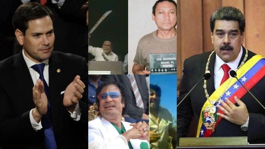 Marco Rubio le recuerda a Maduro que puede terminar como Noriega o Gaddafi