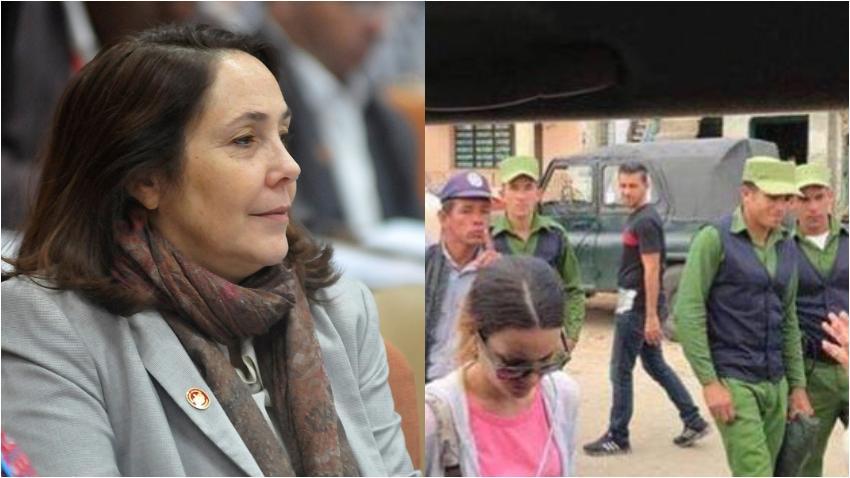 Mariela Castro defiende al actuar de la policía que no dejó entrar las ayudas de la Camerata Romeu