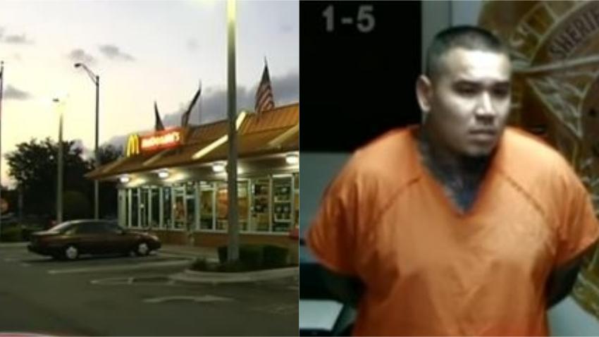 Arrestan a sospechoso de intento de asesinato tras discusión en McDonald de Hialeah