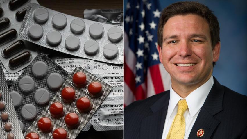 Gobernador de Florida propone importar medicamentos de Canadá