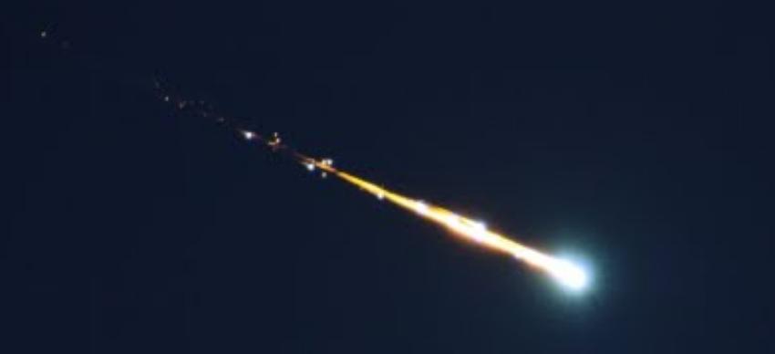 Un gran meteorito atravesó el centro de Florida
