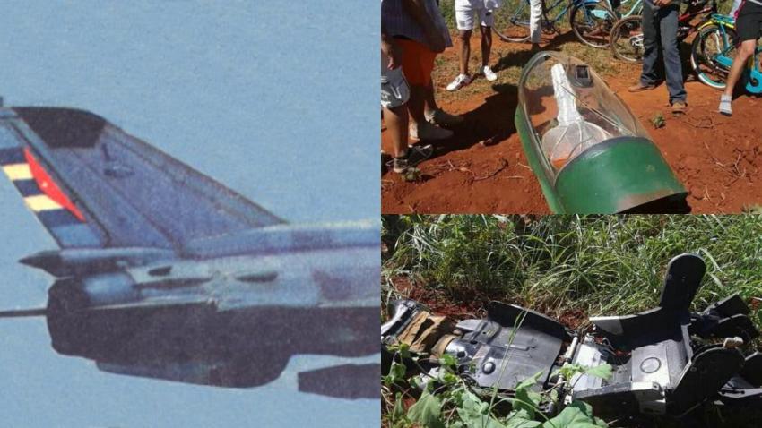 Nota oficial del Ministerio de las Fuerzas Armadas sobre avión militar que se estrelló cerca de La Habana