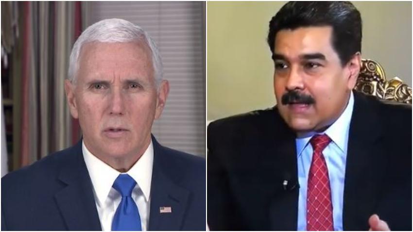 Mike Pence viajará a Colombia a exigir la renuncia del dictador Nicolás Maduro