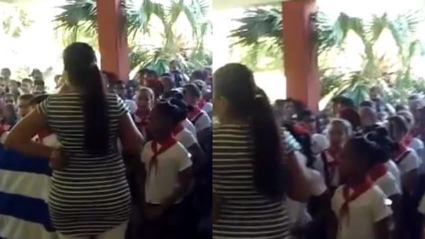"""Gobierno de Cuba utiliza niños para hacer propaganda política por el """"sí"""" en el referendo constitucional"""