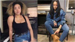 "Paola Guanche a ritmo de Rihanna con el tema ""Take a Bow"""