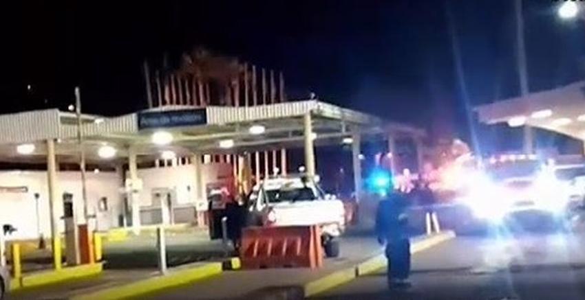 Agente fronterizo estadounidense dispara y mata a conductor que no se detuvo en la frontera con México