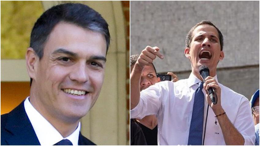 España, Francia y Reino Unido reconocieron a Guaidó como legítimo presidente encargado de Venezuela