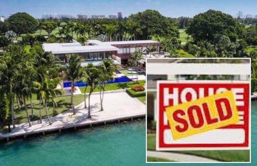 Propiedad en Indian Creek es la casa unifamiliar más cara jamás vendida en  Miami por $ 50 millones