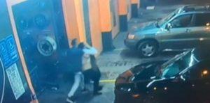 Encuentran a salvo a la mujer violentamente secuestrada en taller de automóviles en Miami