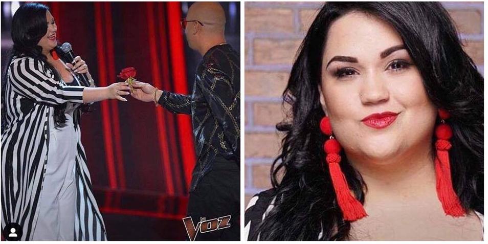 María Karla Urra, otra cubana que hizo gala de su talento en La Voz USA