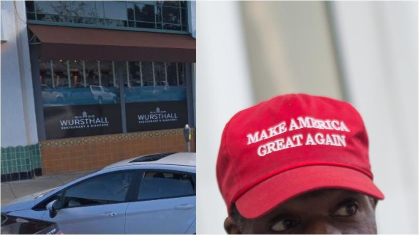 Restaurante en Estados Unidos prohíbe la entrada de clientes que lleven gorras de Trump