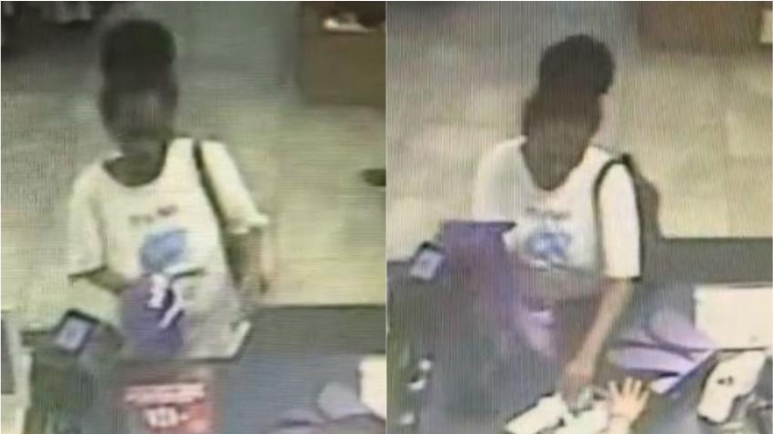 Policía de Miami busca a mujer que se fue de compras con tarjetas robadas