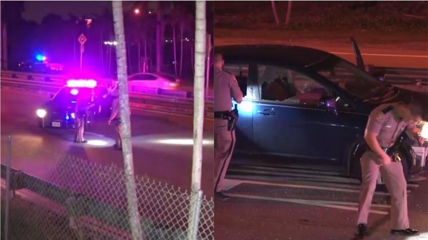"""Aparente caso de """"ira en la carretera"""" provoca tiroteo en la rampa de la I-95  dejando un conductor hospitalizado"""