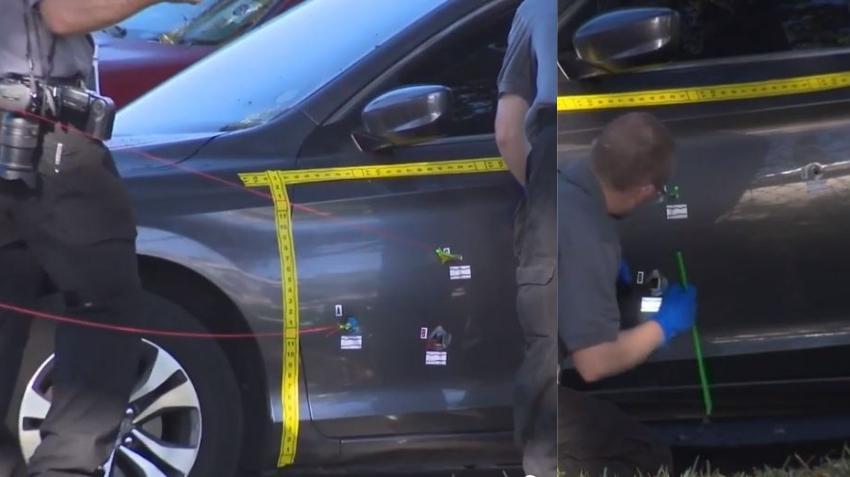 Hombre muere baleado sentado dentro de su carro afuera de su casa en Miramar