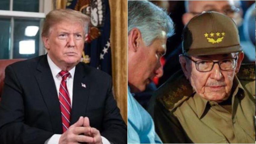Presidente Trump insiste que las sanciones a Cuba serán muy duras y asegura que en la isla no están preparados para ellas