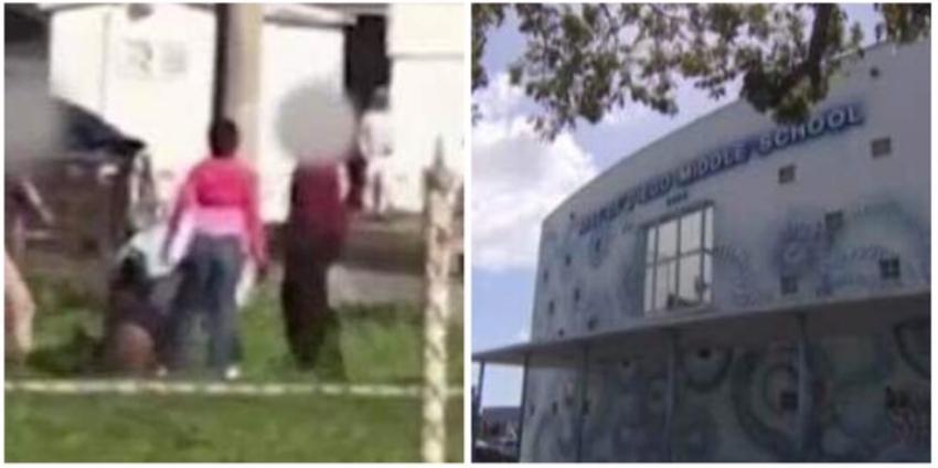 Golpiza a una adolescente en escuela de Wynwood, Miami captada en cámara