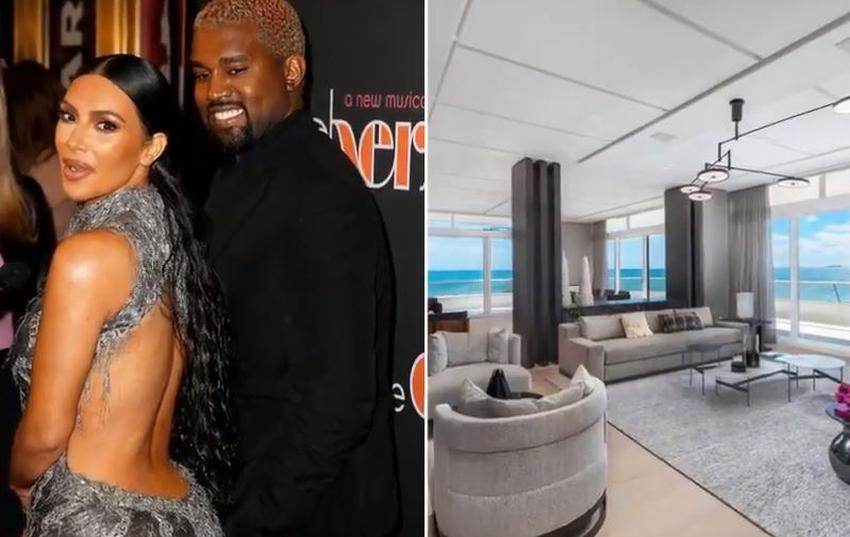 Kanye West retira su oferta de 14 millones para un condo que iba a comprar en Miami tras las quejas de Kim Kardashian