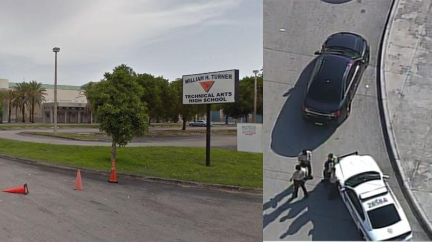 Policía investiga amenaza de tiroteo contra una escuela secundaria en Miami