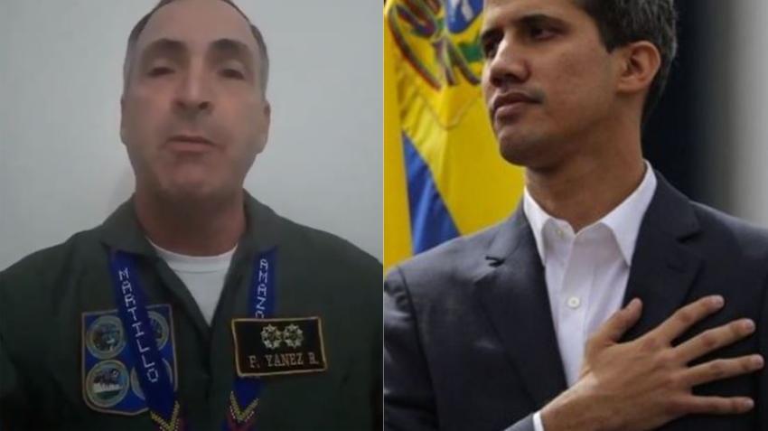 General de alto mando de la aviación venezolana le da su apoyo a Guaidó y pide que se vaya el dictador Maduro
