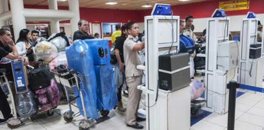 Aduana de Cuba reporta que ha detectado nueve casos de tráfico de drogas en el Aeropuerto de La Habana