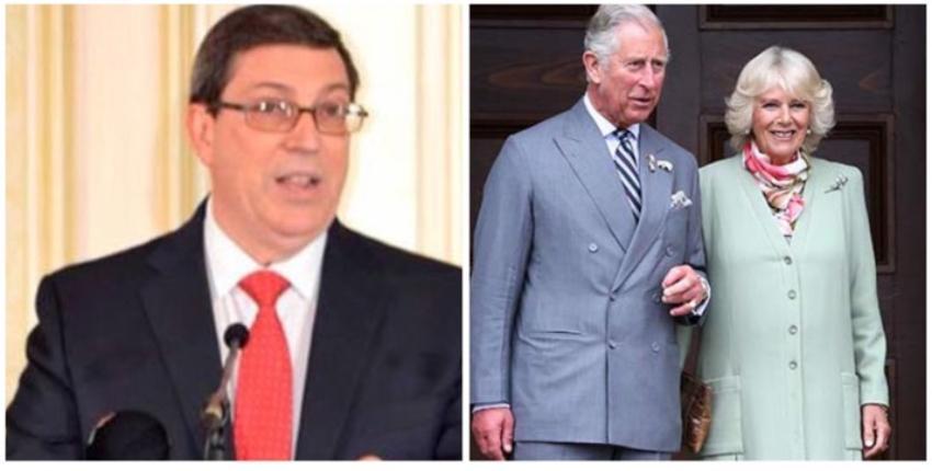 """Cuba recibirá con """"cálida hospitalidad"""" al príncipe de Gales y a su esposa, asegura canciller cubano"""
