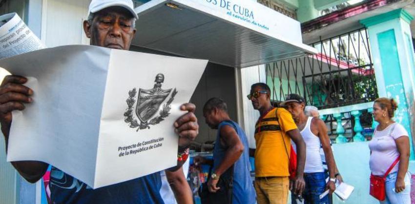 El próximo 10 de abril el régimen proclamará la nueva Constitución de Cuba