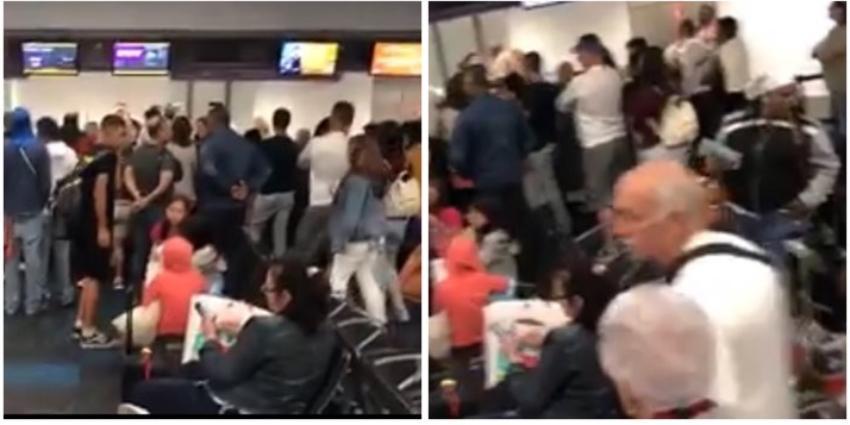 Cubanos varados por más de 48 horas en el aeropuerto de Miami tras cancelación de la compañía de vuelos chárter Gulfstream